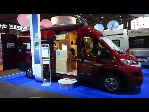2018 Knaus Boxstar Lifetime Platinum Fiat - Exterior and Interior - Caravan Show CMT Stuttgart 2018