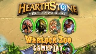 Hearthstone Gameplay: Warlock Zoo