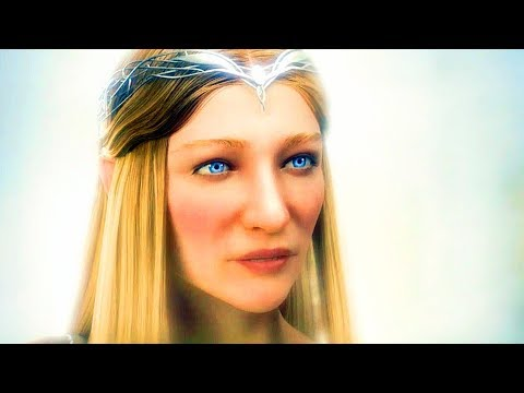SHADOW OF WAR The Blade of Galadriel DLC Cinematic Trailer (2018) PS4 / Xbox One / PC