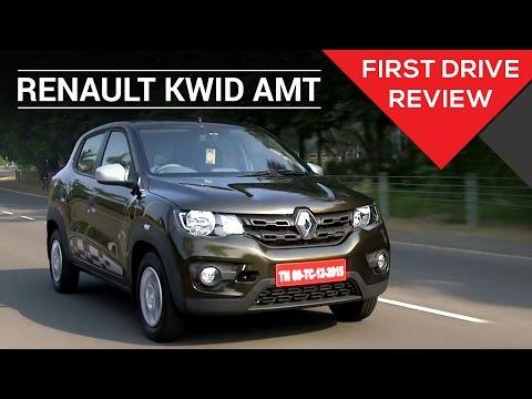 Renault Kwid 1.0 Easy R AMT   First Drive Review   Zigwheels