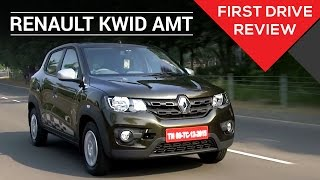 Renault Kwid 1.0 Easy R AMT | First Drive Review | Zigwheels