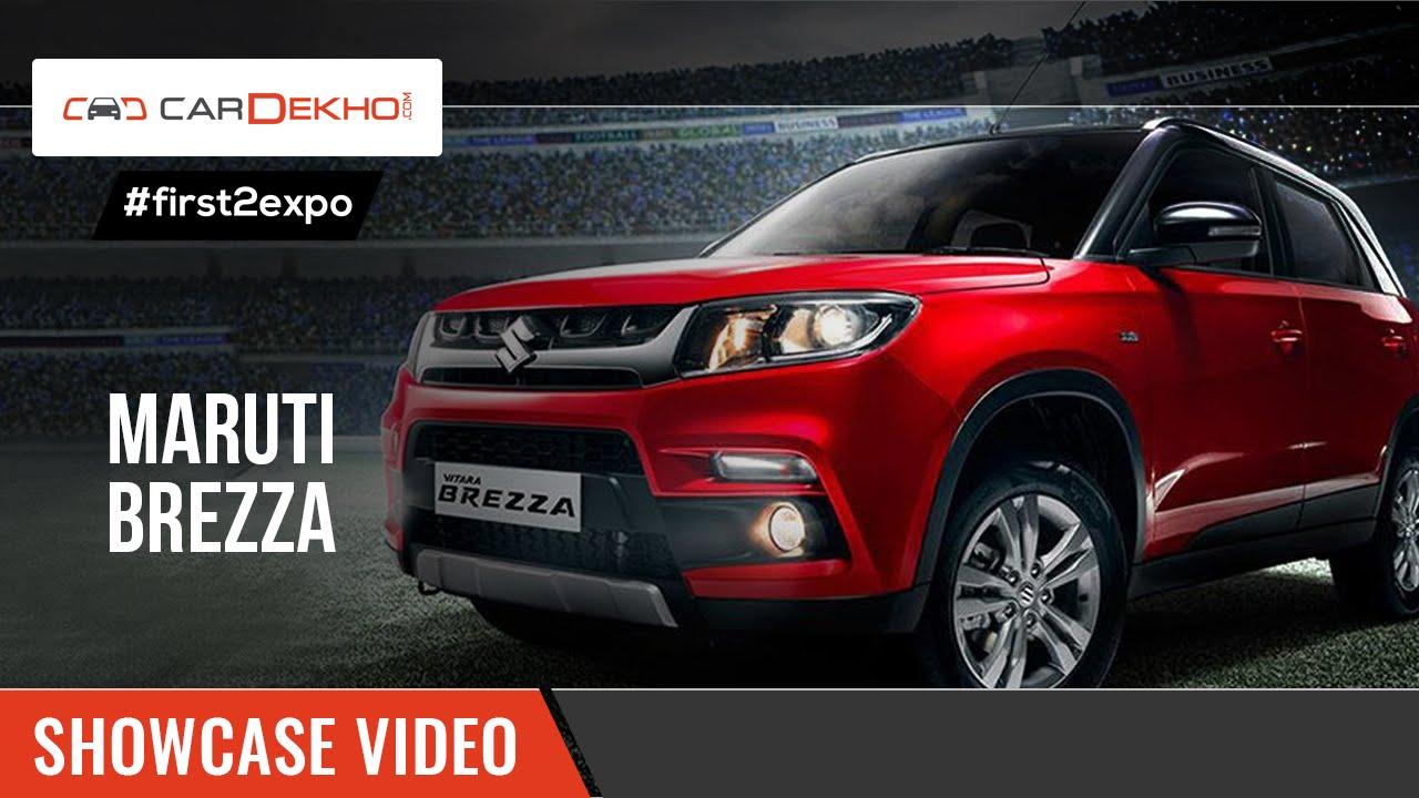 #first2expo: Maruti Suzuki Vitara Brezza | Showcase Video | CarDekho@AutoExpo2016