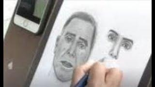 Pinta retratos y paisajes en