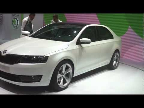 Skoda Mission L at Frankfurt Auto Expo