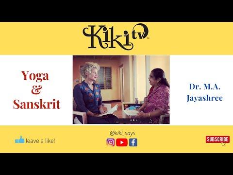 Sanskrit is the Key to Yoga with Dr. M.A. Jayashree