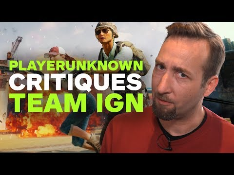 PlayerUnknown Critiques IGN's PUBG Play