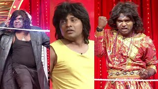 Jabardasth Jigel Jeevan & Phani Performance  - Mee Nanna Temper Hilarious Skit - Kiraak Comedy Show - MALLEMALATV