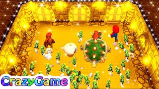 Mario Party 9 - Smash Compactor + More Mario Party Minigames Gameplay