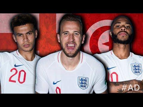 LIVE: ENGLAND 1-0 TUNISIA | #Thefootballsocial