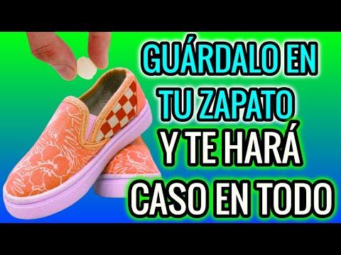 GUÁRDALO EN TU ZAPATO Y TE HARÁ CASO EN TODO! HECHIZO CON ZAPATO Y SALIVA