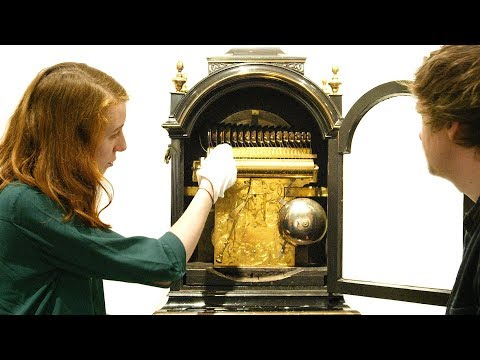 Musical Clock from 1750 and Porter Music Box from 1978
