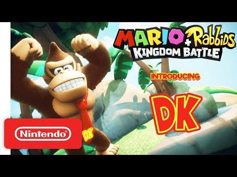 connectYoutube - Mario + Rabbids Kingdom Battle: Donkey Kong Reveal Trailer - Nintendo Switch
