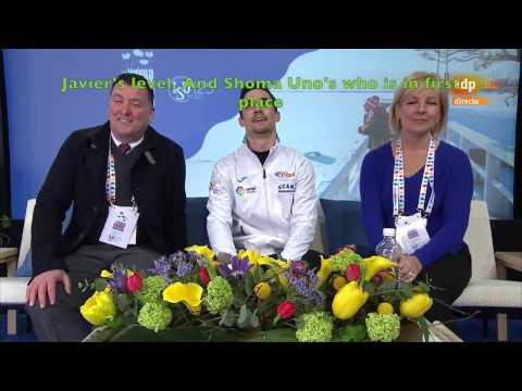 [ENG SUB] Spanish Commentary: Javier Fernandez (ESP) SP - Worlds 2017