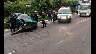 Reportan un accidente en el km.44 de la ruta Interamericana