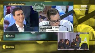 La Vida Moderna   Pedro Sánchez y la respuesta a un chico con Síndrome de Down