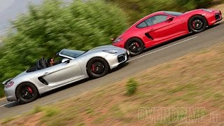 Porsche Cayman GTS & Boxster GTS - Road Test Review (India) - Porsche Videos