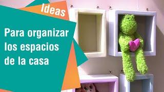 Ideas originales para organizar las habitaciones de la casa | Ideas