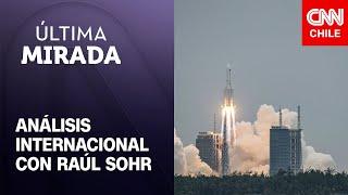 Raúl Sohr ahonda en el lanzamiento del primer módulo de la estación espacial de China