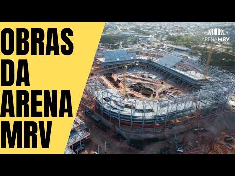 OBRAS DA ARENA MRV - 14/09/2021