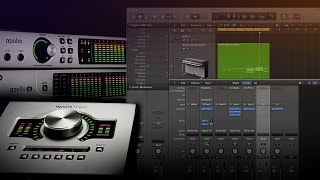 Setting up Apollo with Logic Pro X