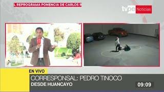 Huancayo: solicitan prisión preventiva para sujeto que agredió a su pareja en hostal