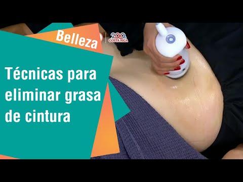 Técnicas para eliminar grasa de cintura y vientre | Belleza