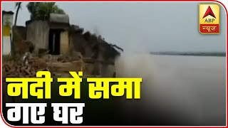 UP: Several houses washed away by swollen river - ABPNEWSTV
