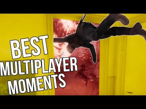 CRAZIEST Multiplayer Moments of 2017