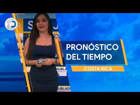 Pronóstico del tiempo Costa Rica 13 de octubre