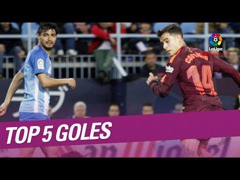 TOP 5 Goles Jornada 28 LaLiga Santander 2017/2018: