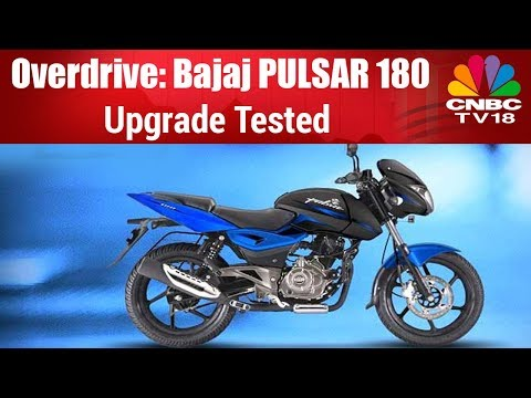 Bajaj Pulsar 180 upgrade tested- By Overdrive