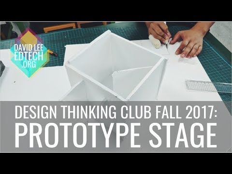 Design Thinking Club (Fall 2017): Prototype Stage