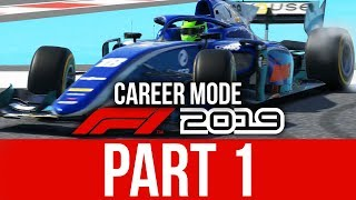 F1 2019 Career Mode Gameplay Walkthrough Part 1 - F2 Feeder Series