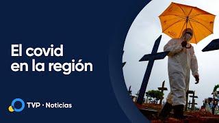 Alerta en Latinoamérica por las cifras contagios y muertes por coronavirus