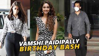 TFI Celebs Spotted @ Vamshi Paidipally Birthday Bash | TFPC - TFPC