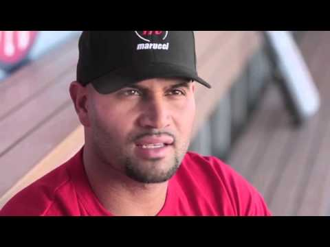 Albert Pujols Swings Marucci - Watch and Learn Why! Video