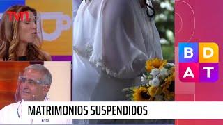 Tragedia sentimental: Suspendieron matrimonios por fase 2 | Buenos días a todos
