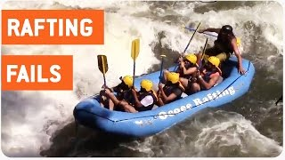 River Rafters Flip Over in the Same Spot | Man Overboard