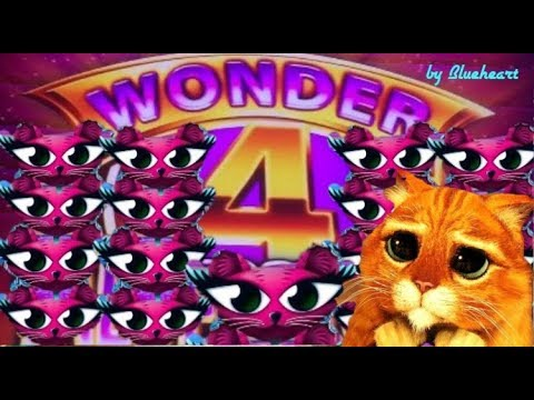 connectYoutube - ★ ONLY SUPER GAMES ★ Miss KITTY GOLD slot machine BONUS WINS! (Wonder 4 Tall Fortunes )