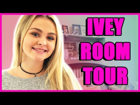 connectYoutube - Ivey's Room Tour!