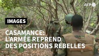 Casamance: l'armée sénégalaise revendique la prise de camps rebelles | AFP Images