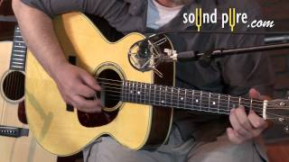 Wes Lambe Brazilian/Adirondack OM Acoustic Guitar