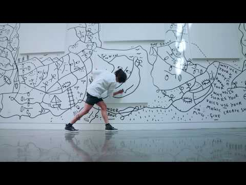 Drawing is like a dance