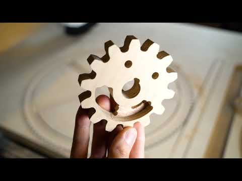 Plywood Gears With High Precision - Building MMX Ep.5