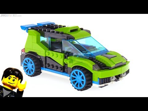 connectYoutube - LEGO Creator Rocket Rally Car 3-in-1 review! 31074