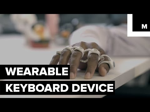 Turn Your Hand Into A Keyboard With This Strap Of Sensor-equipped Rings