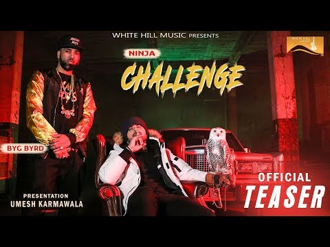 CHALLENGE LYRICS - Ninja   Sidhu Moose Wala   Byg Byrd
