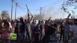 Protestas en Chile por la falta de ayudas durante la pandemia de coronavirus