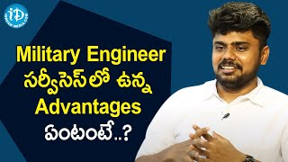 UPSC Engineering Services Topper Harshavardha about Military Engineer Services | iDream Movies - IDREAMMOVIES