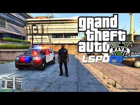 GTA 5 PC MODS - LSPDFR - POLICE SIMULATOR - EP 2 (NO